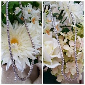 Jewelry - White in Color, Crisp in Clarity, Diamond Necklace